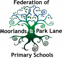 Federation of Moorlands and Park Lane Primary Schools Logo