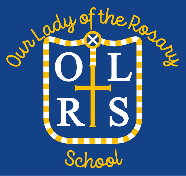 Our Lady of the Rosary Catholic Primary School Logo